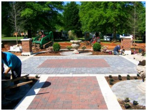 hardscapes in rock hill