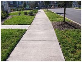 sidewalk border